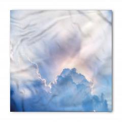 Mavi Bulutlu Gökyüzü Bandana Fular