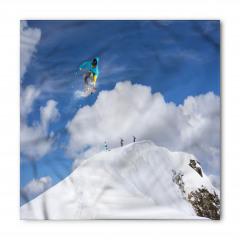 Dağdaki Kayakçılar Bandana Fular