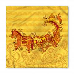 Süslü At Arabası Bandana Fular