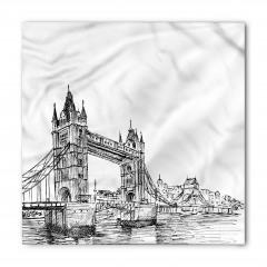 Tower Bridge Desenli Bandana Fular