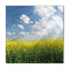 Sarı Çiçekler Bandana Fular