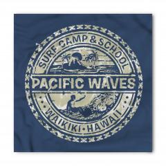 Pasifik Dalgaları Bandana Fular