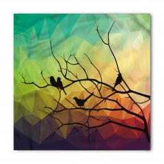 Kuru Daldaki Kuşlar Bandana Fular