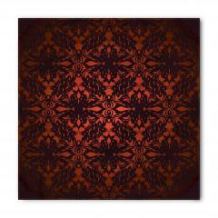 Kırmızı Siyah Damask Bandana Fular