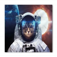 Astronot Kedi ve Güneş Bandana Fular