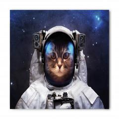 Astronot Kedi ve Yıldız Bandana Fular