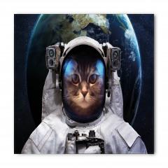 Astronot Kedi ve Dünya Bandana Fular