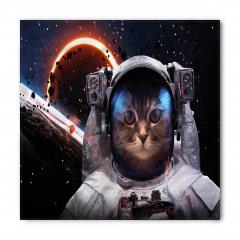 Gezegen ve Kedi Bandana Fular
