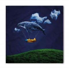 Uçan Balık Desenli Bandana Fular