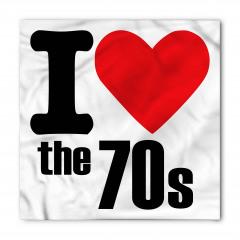 70'leri Seviyorum Bandana Fular