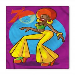 70'ler Kadını Bandana Fular