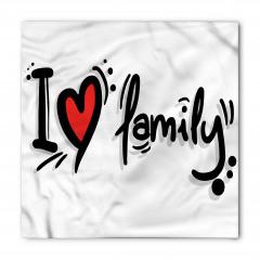 Ailemi Seviyorum Bandana Fular