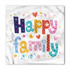 Mutlu Aile Bandana Fular