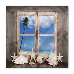 Denizyıldızlı Pencere Bandana Fular