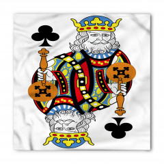 Kral İskambil Kartı Bandana Fular