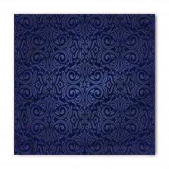 Lacivert Duvar Kağıdı Bandana Fular