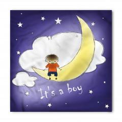 Aydaki Erkek Çocuk Bandana Fular