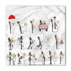 Evlilik Seremonisi Bandana Fular