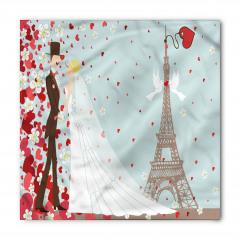 Paris'teki Evli Çift Bandana Fular