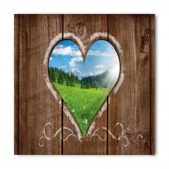 Kalpli Ahşap Pencere Bandana Fular