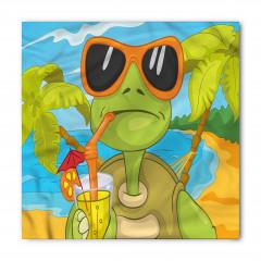 Gözlüklü Kaplumbağa Bandana Fular
