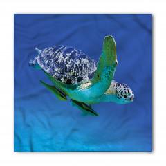 Dalış Yapan Kaplumbağa Bandana Fular