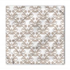 Gri Beyaz Duvar Kağıdı Bandana Fular