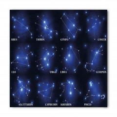 Burç Yıldızları Bandana Fular