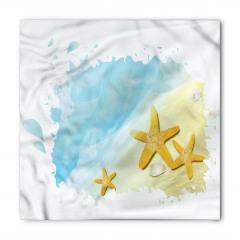 Sarı Denizyıldızları Bandana Fular