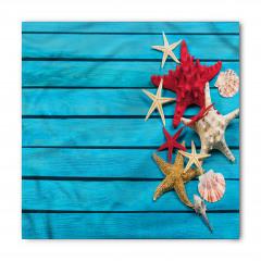 Kırmızı Denizyıldızı Bandana Fular