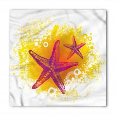 Mor Denizyıldızı Bandana Fular