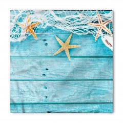 Ağ ve Denizyıldızı Bandana Fular