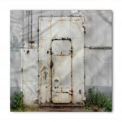 Gri Paslı Kapı Bandana Fular
