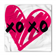 Mor Kalpli Xox Oyunu Bandana Fular