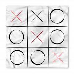 Çizgili Xox Oyunu Bandana Fular