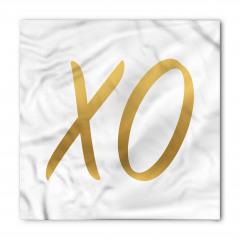 Altından X ve O Bandana Fular
