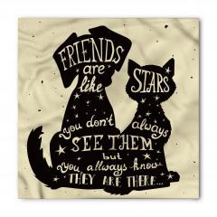 Arkadaş Yıldız Gibidir Bandana Fular