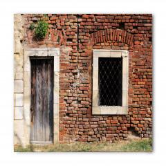Tuğla Evin Kapısı Bandana Fular