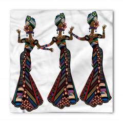 Dansçı Afrikalılar Bandana Fular