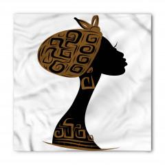 Şık Şapkalı Afrikalı Bandana Fular