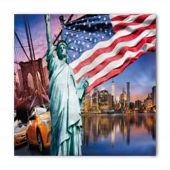 Bayraklı Ozgürlük Anıtı Bandana Fular