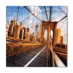 Ahşap Köprü ve Gökdelen Bandana Fular