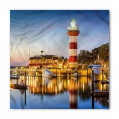 Tekne ve Deniz Feneri Bandana Fular