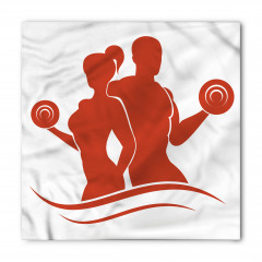 Kadın ve Erkek Sporcu Bandana Fular