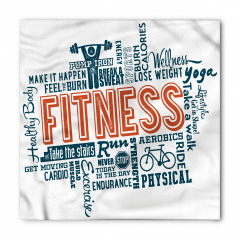 Sağlık İçin Spor Yapın Bandana Fular