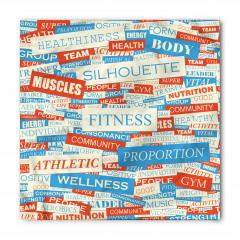 Fitness Sözleri Bandana Fular