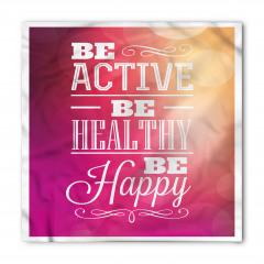 Aktif Sağlıklı Mutlu Ol Bandana Fular