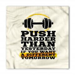 Egzersizin Önemi Bandana Fular