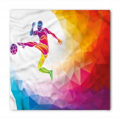 Şut Çeken Futbolcu Bandana Fular