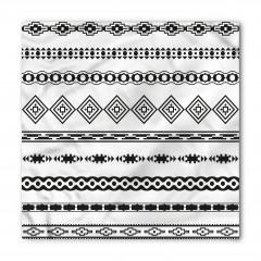 Etnik Geometrik Desen Bandana Fular